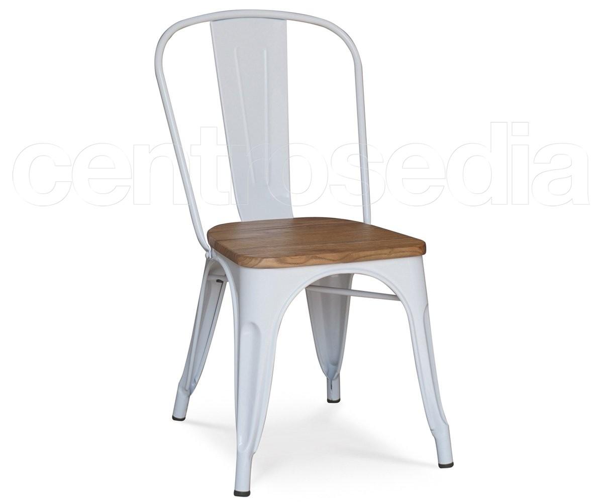 Virginia sedia metallo seduta in legno sedie alluminio