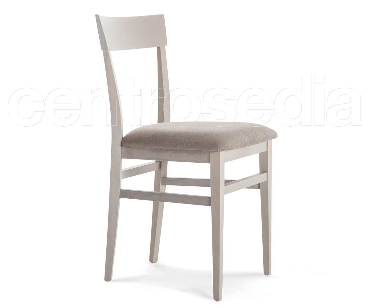 Linea sedia legno seduta imbottita sedie legno moderno