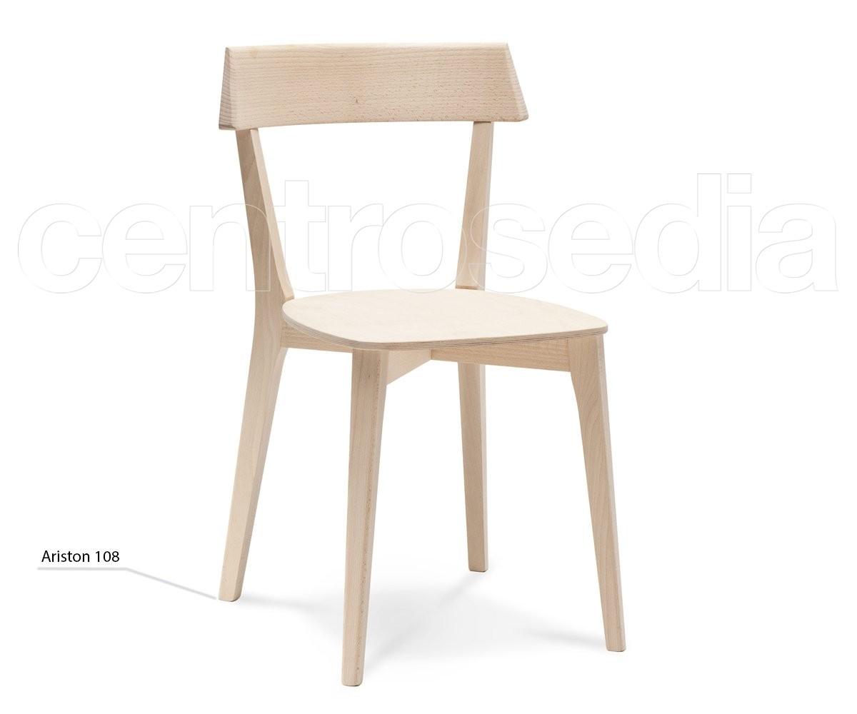 Ariston Sedia Legno - Seduta Legno - Sedie Design Legno ...
