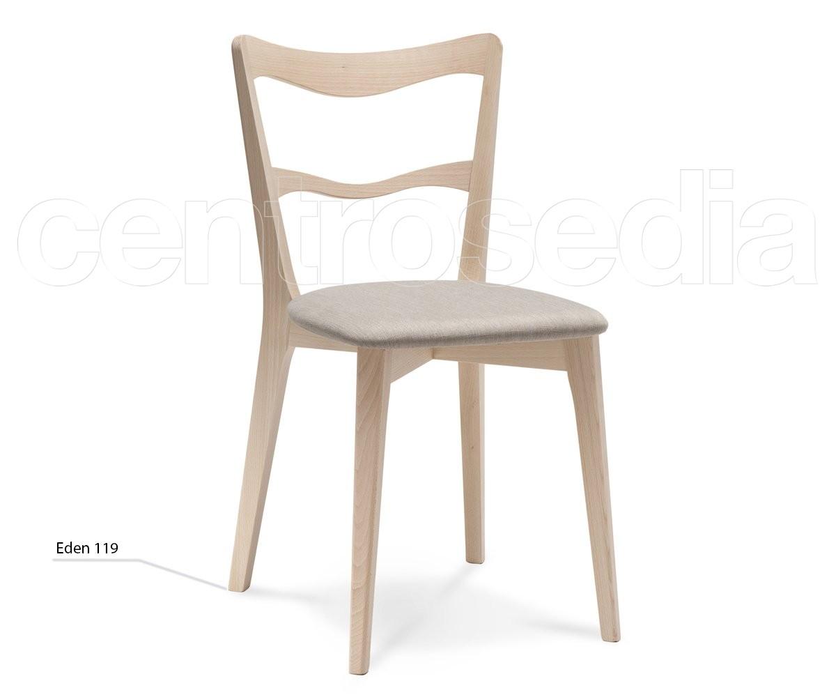 Legno Imbottita Sedie Sedia Seduta Eden DesignCentrosedia FTJlcK1