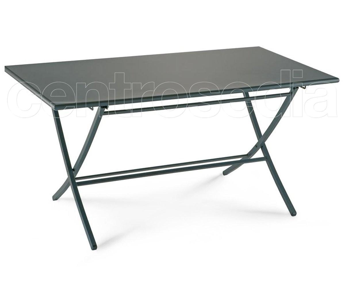 Bigbuy tavolo pieghevole quadrato serious line collezione by