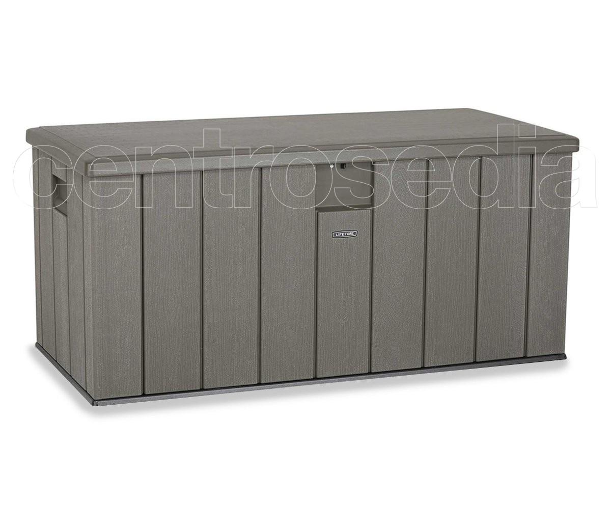 60215 Lifetime Heavy Duty Outdoor Storage Deck Box 151x72x69 H Cm