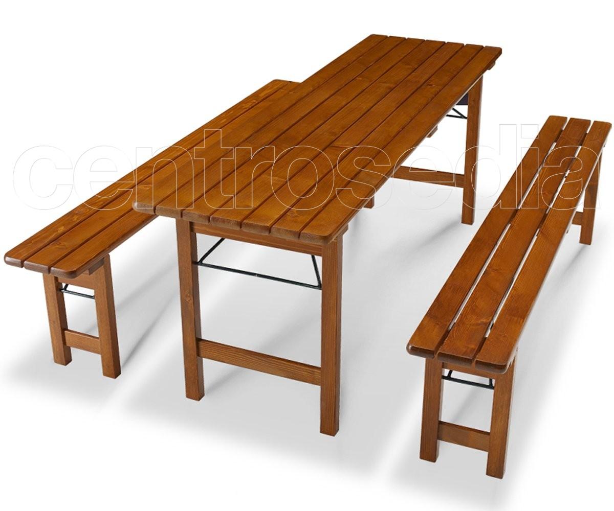 Berlin Set Birreria Pieghevole Set Birreria Tavoli E Panche Centrosedia