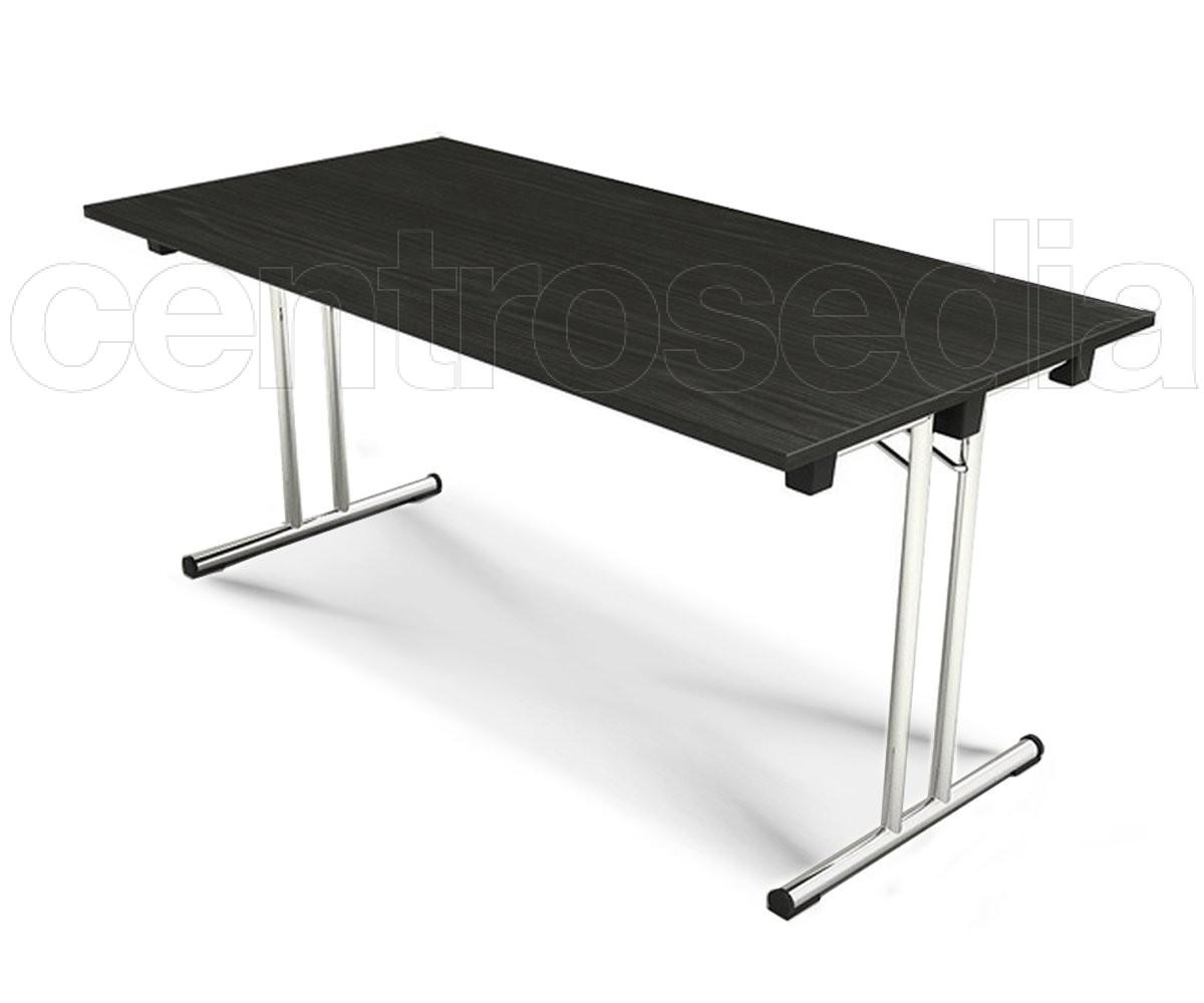 Fold tavolo pieghevole con piano cm tavoli pieghevoli o