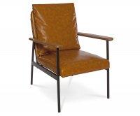 """""""Dione"""" Soft Metal Vintage Armchair"""