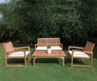 Bahama Living Set in Legno di Teak